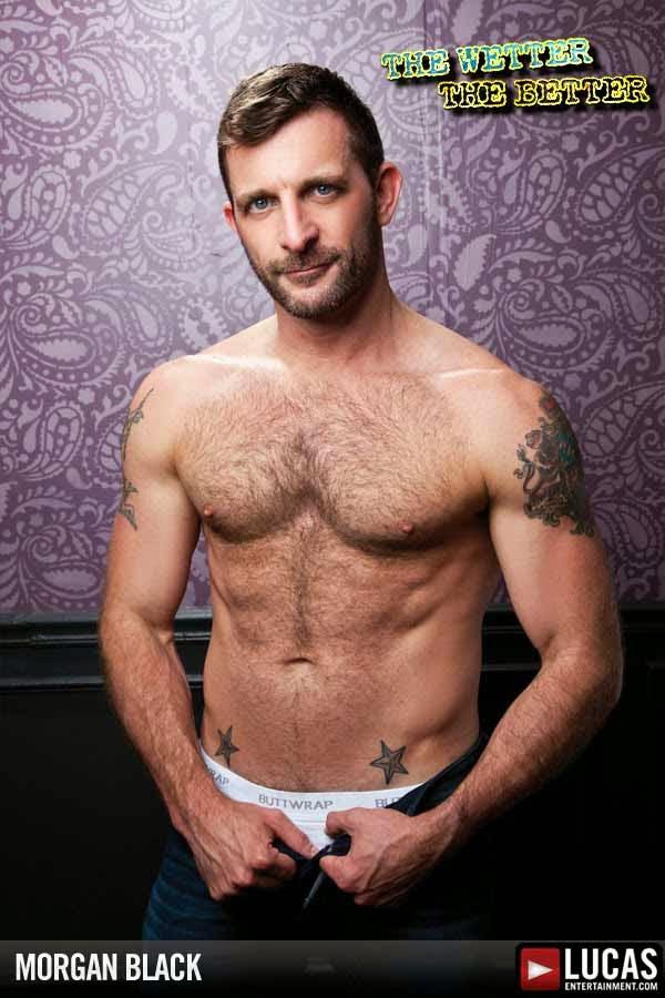 Morgan Black gay hot daddy dude men porn