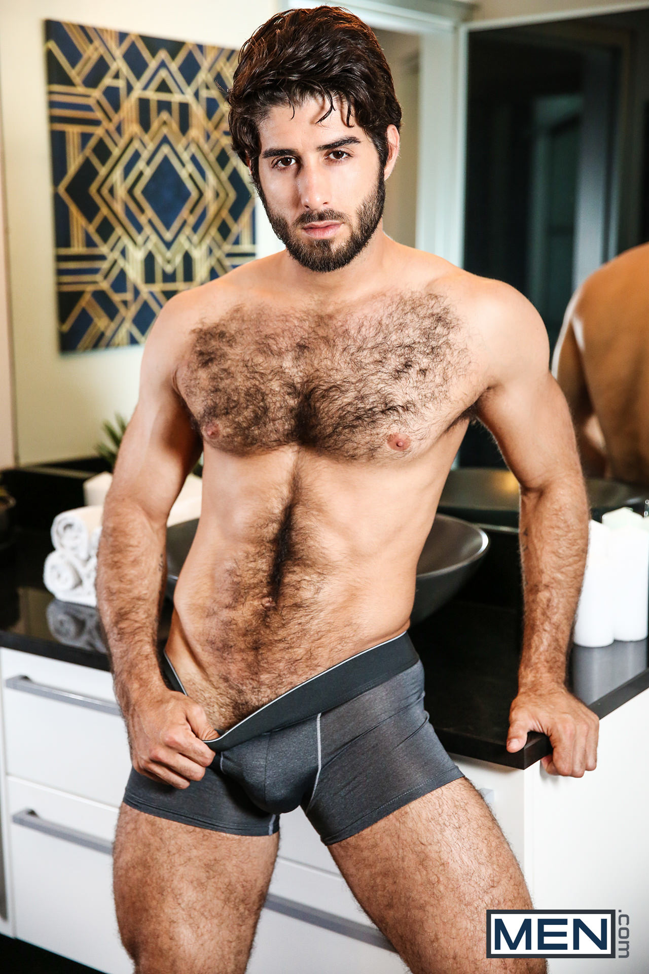 Diego Sans gay hot daddy dude men porn