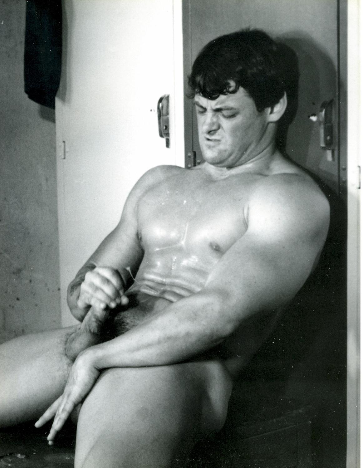 Mark Leonard vintage gay hot dude daddy dude men porn Jock Shots