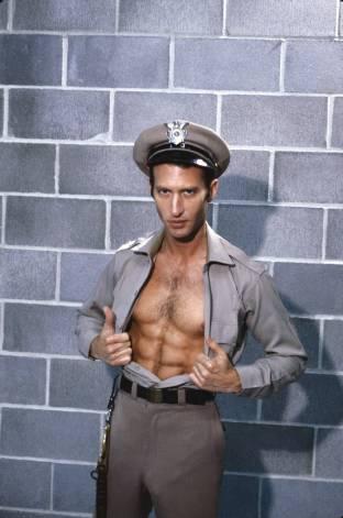 Hal Drake bareback fuck Mike Cole vintage gay hot daddy dude porn Cellblock