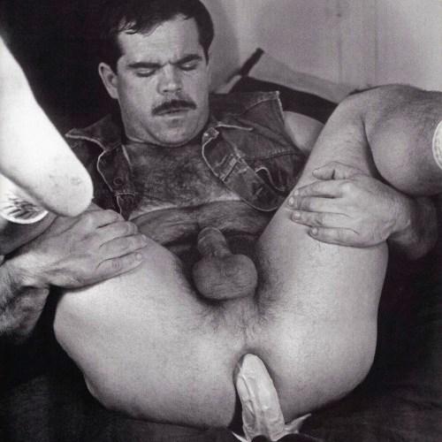 Stan Lauder Patrouski vintage gay hot rugged leather porn