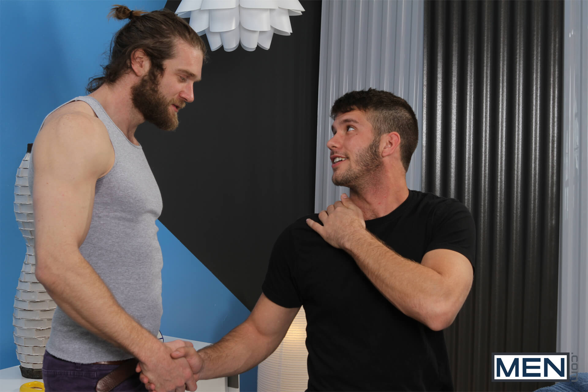Colby Keller fuck Jimmy Fanz gay hot daddy dude men porn Deep Release