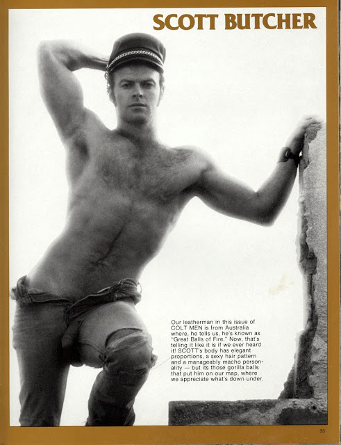 Scott Butcher gay vintage hot daddy dude porn