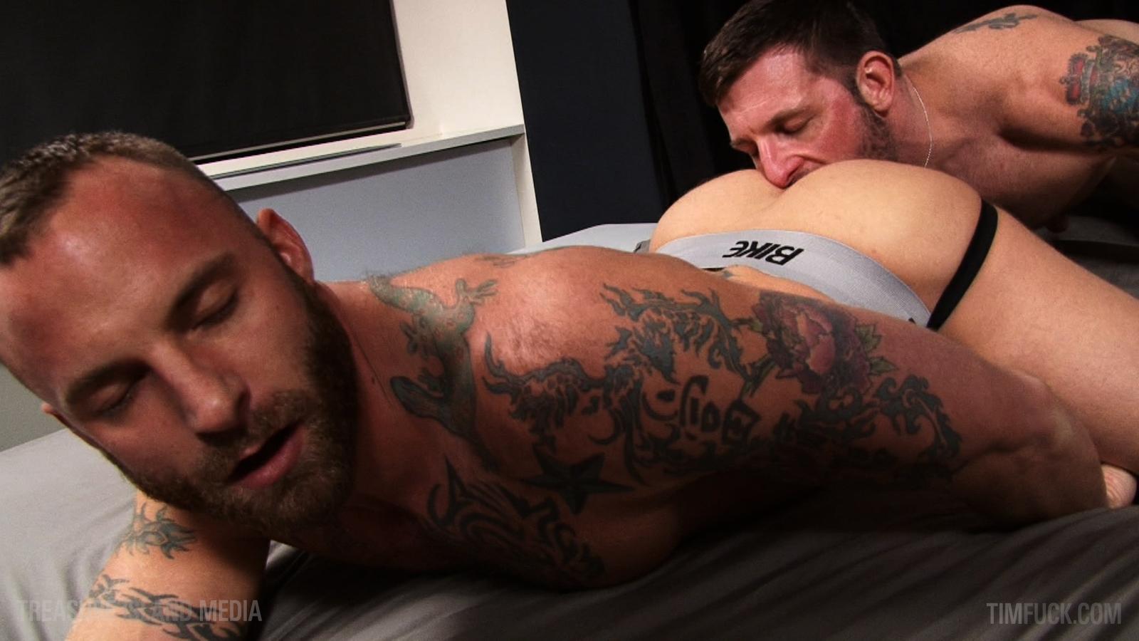 Morgan Black fuck Derek Parker gay hot daddy dude men porn TimFuck