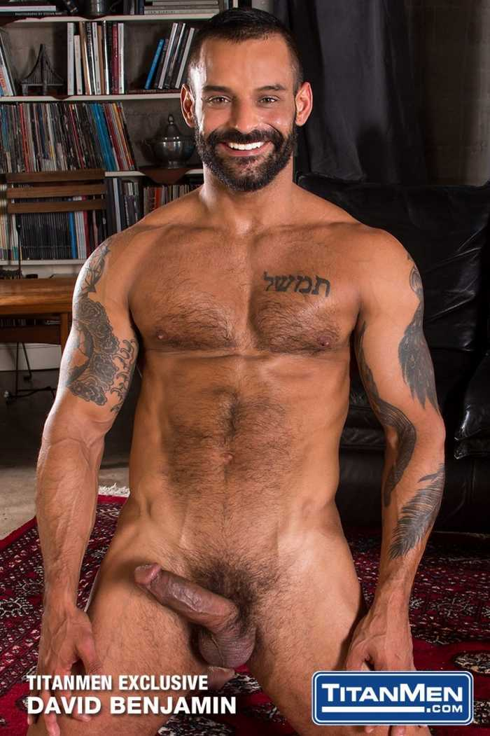 David Benjamin gay hot daddy dude men porn