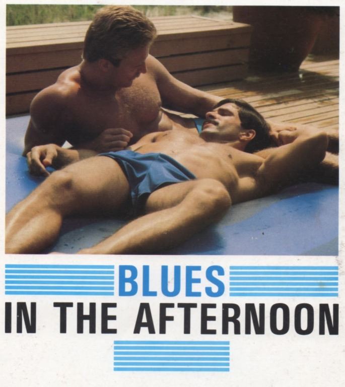 Josh Kincaid Rod Mitchell flip fuck vintage gay hot daddy dude men porn Blues In The Afternoon