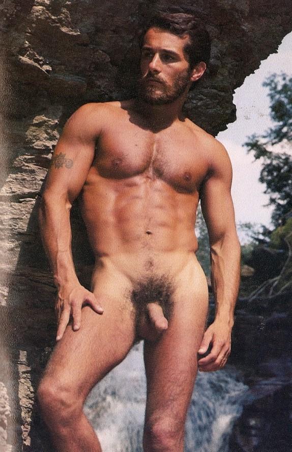 Chuck Gatlin vintage gay hot daddy dude men porn