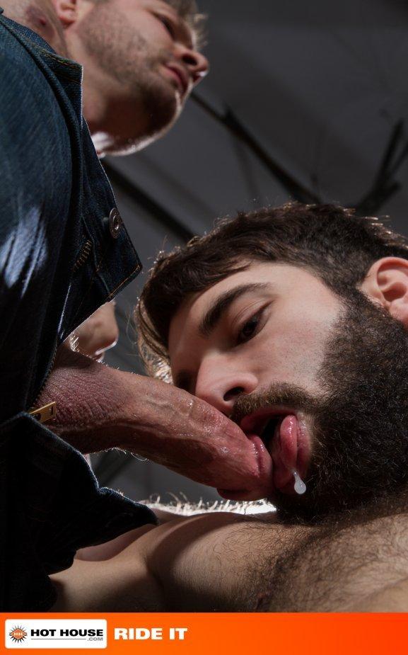 Austin Wolf fuck Tegan Zayne gay hot daddy dude men porn Ride It