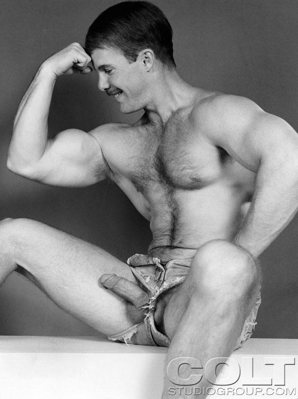 Butch Barnes Rick Masters vintage gay hot daddy dude men porn