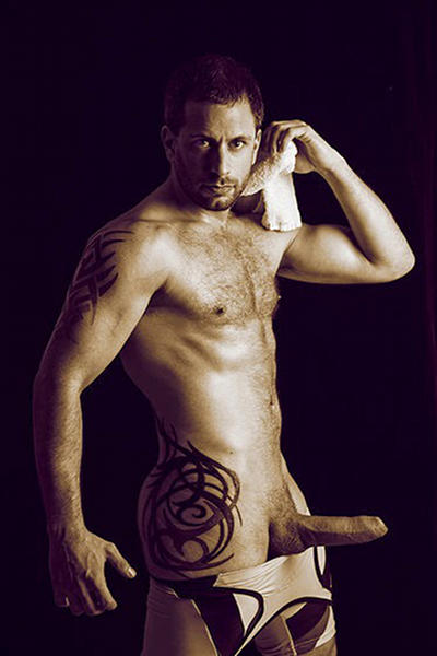 Brad Rioux gay hot daddy dude men porn
