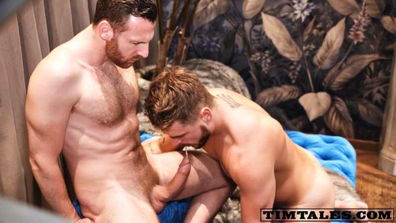Tim Kruger fuck Josh Moore gay hot daddy dude men porn TimTales