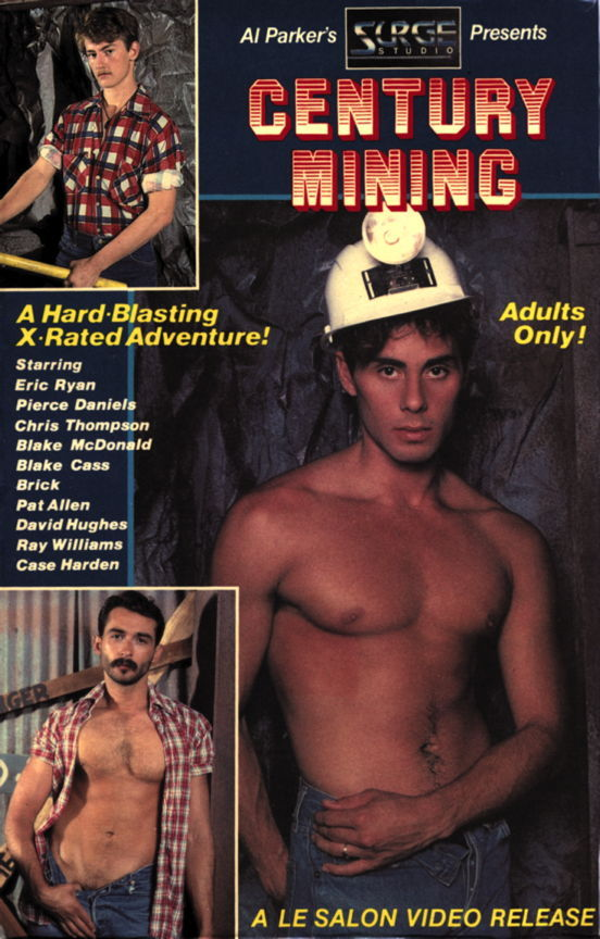 Century Mining vintage gay hot daddy dude men porn
