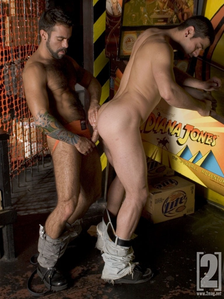 Steve Cruz Dominic Sol flip fuck gay hot daddy dude men porn 2 Mag