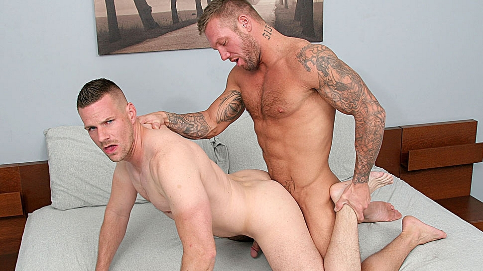 Bo Dean fuck Park Wiley gay hot daddy dude porn Cocksure Men