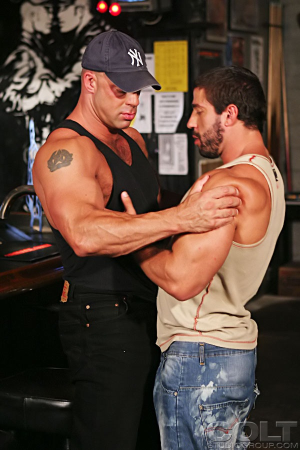 Zak Spears fuck Carlo Masi gay hot daddy dude men porn BuckleRoos