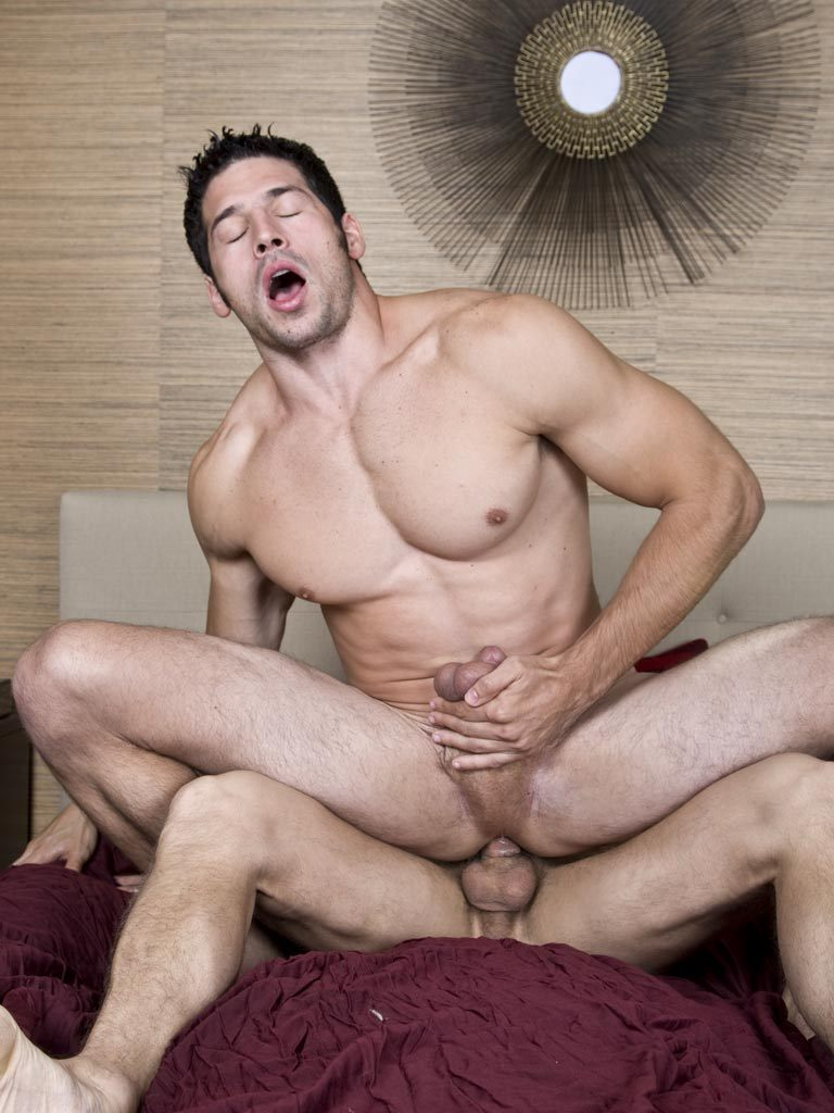 Chris Rockway fuck Leo Giamani gay hot daddy dude men porn