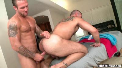 Bo Dean fuck Trace Michaels gay hot daddy dude men porn RubHim