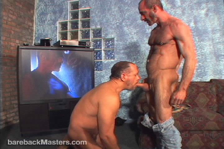 Anthony DeAngelo fuck Cameron Cruise gay hot daddy dude men porn Bareback Masters