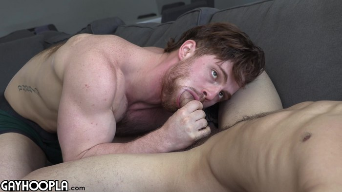 Marc Wallace fuck Dustin Hazel hot daddy dude men porn Gay Hoopla