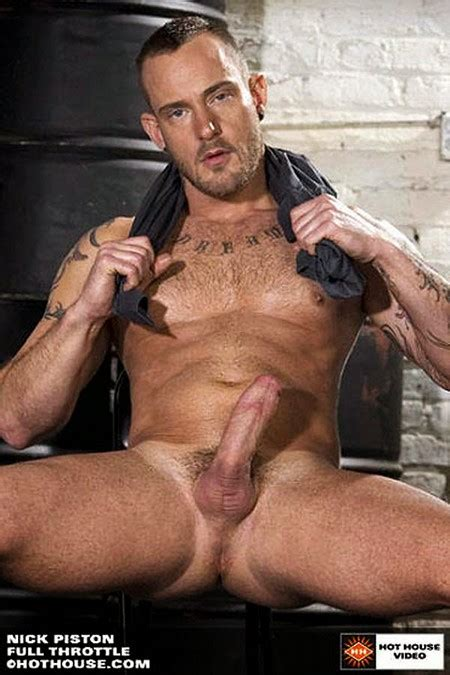 Nick Piston gay hot daddy dude men porn