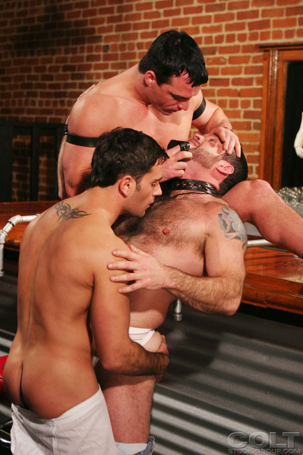 Edu Boxer Dave Angelo fuck Sam Shadon gay hot daddy dude men porn Big 'n Plenty