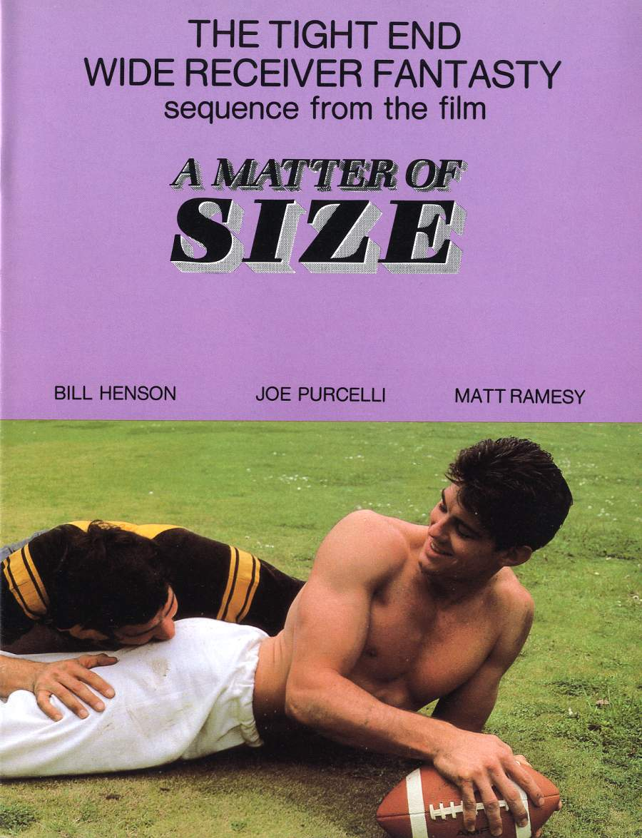 Joe Porcelli fuck Bill Henson vintage gay hot daddy dude men porn Matter of Size