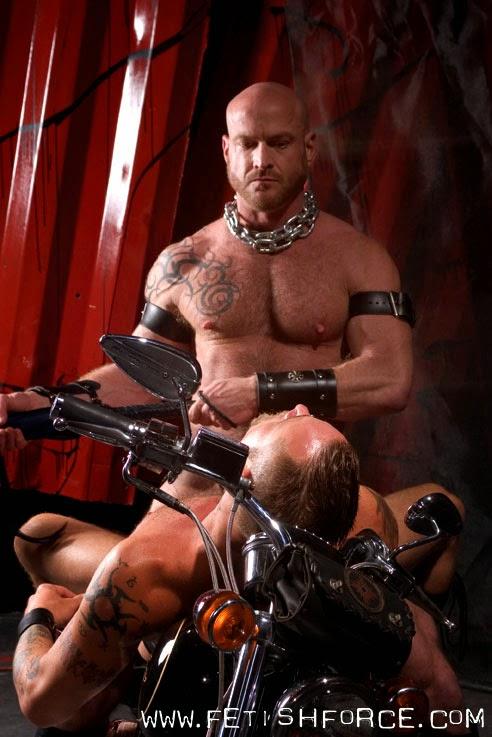 Ken Braun Erik Hunter Nick Piston Danny Mann gay hot daddy dude men porn Red Black