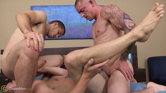 Palmer Vander Zarek gay hot daddy dude men porn bareback fuck breed ChaosMen