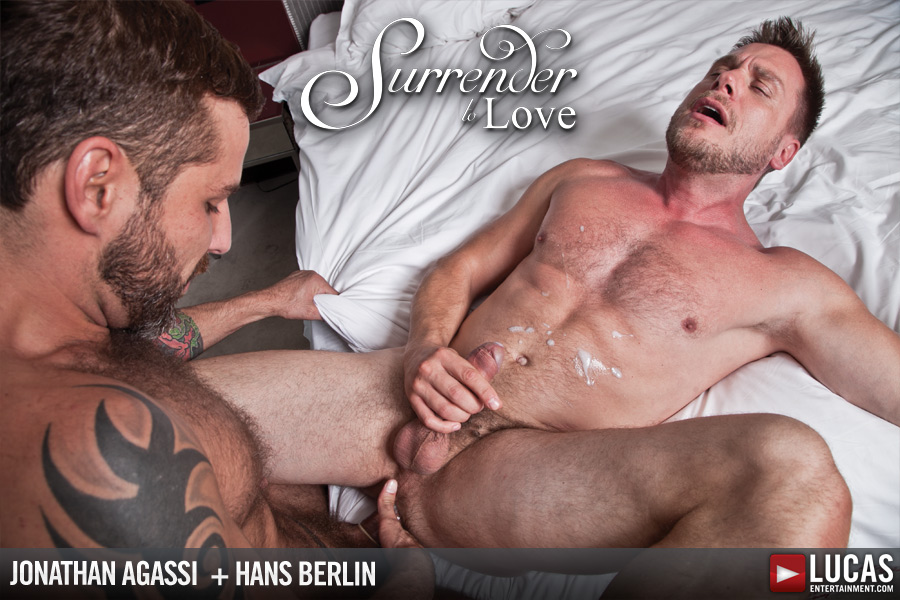 Jonathan Agassi flip fuck Hans Berlin gay hot daddy dude men porn Surrender to Love