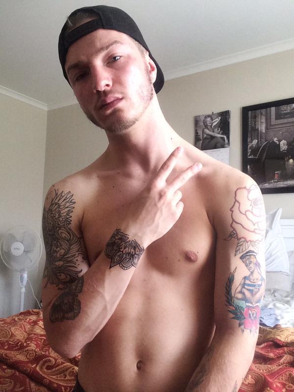 Sarpa Van Rider gay hot dude men guy porn