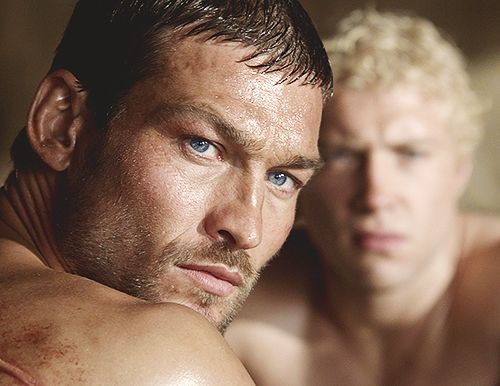 Jai Courtney Andy Whitfield hot daddy dude men porn spartacus