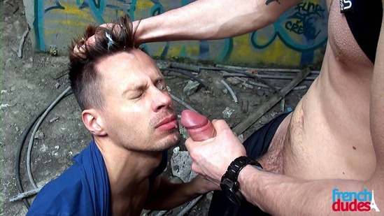 Waikix fuck Filip gay hot daddy dude men porn public French Dudes