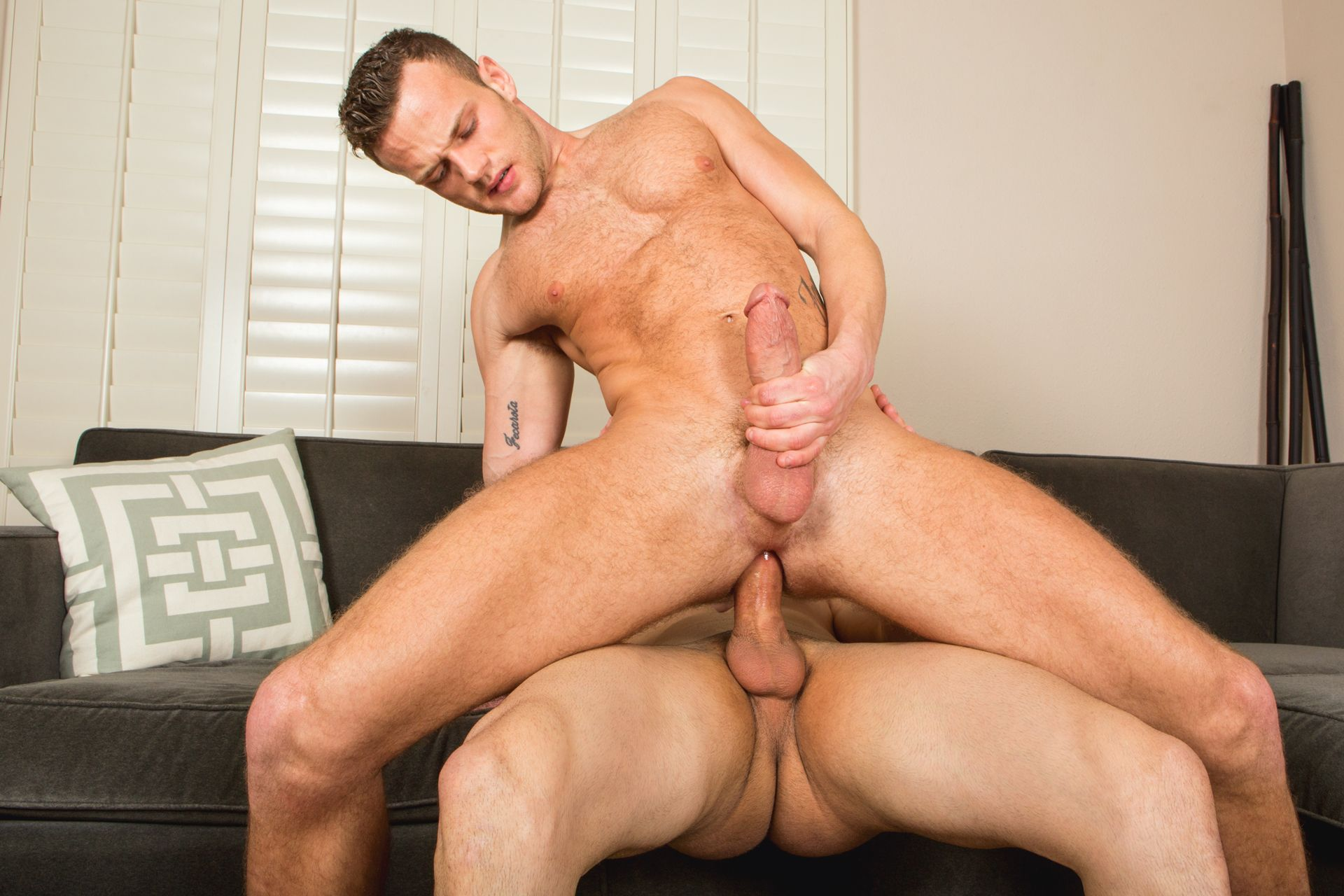 Randy Sean flipfuck bareback gay hot daddy dude men porn