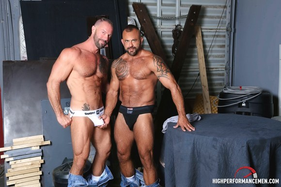 Vic Rocco fuck Jon Galt gay hot daddy dude men porn high performance