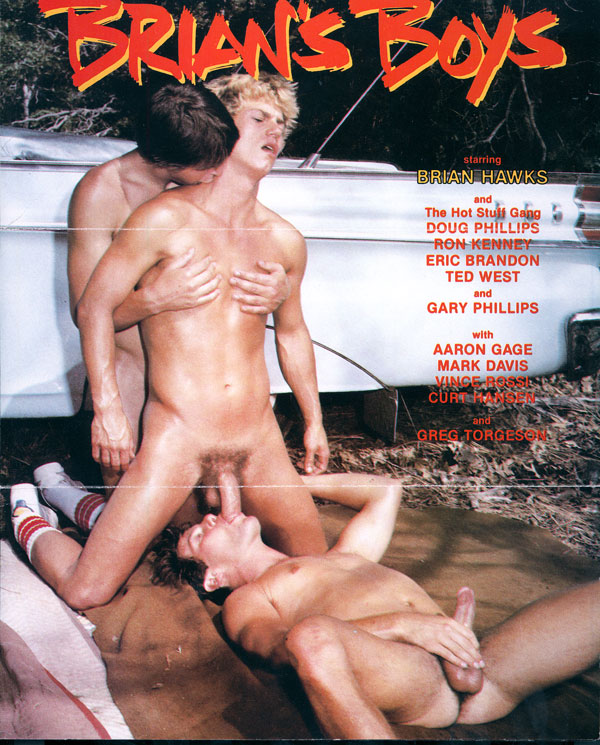 brian hawkes vintage gay hot daddy dude men porn brian's boys