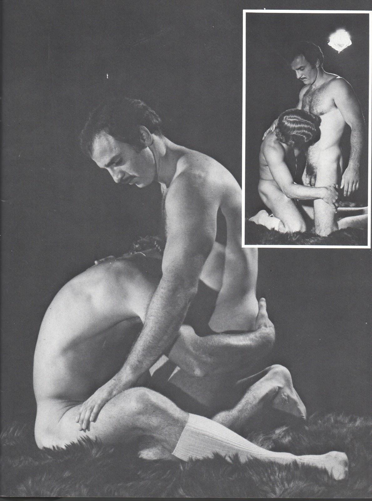 Paul Barresi bareback fuck Lee Marlin vintage gay hot daddy dude men porn