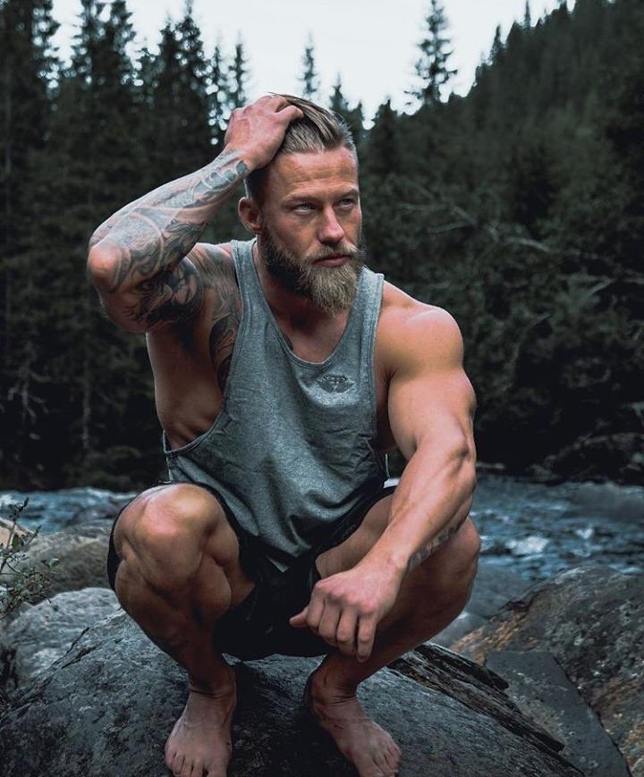 Stian Bjornes hot sexy daddies dudes men