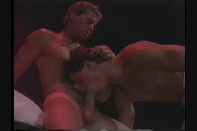 Mike Henson bareback fuck John Davenport vintage gay hot daddy dude men porn Bad Boys Club