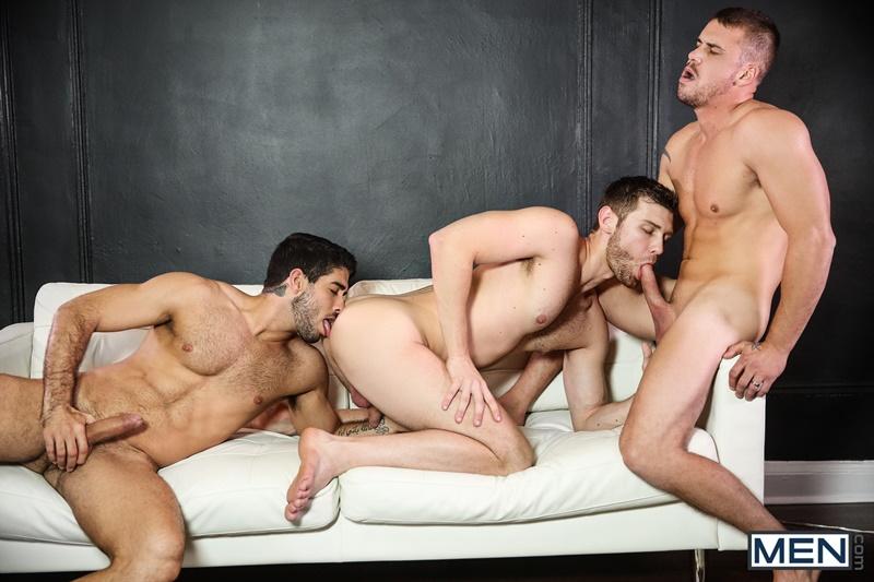 Diego Sans Darin Silvers Jacob Peterson gay hot daddy dude men porn threeway Stealth Fuckers