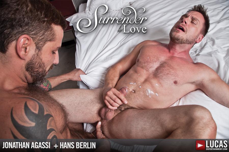 Jonathan Agassi flip fuck Hans Berlin gay hot daddy dude men porn Surrender to Love