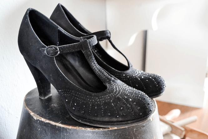 20er Jahre Schuhe