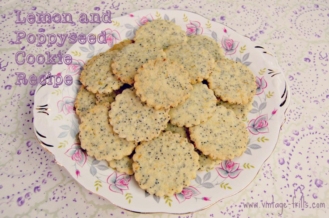 Lemon, Poppyseed, Cookies, Biscuits, Recipes, Baking
