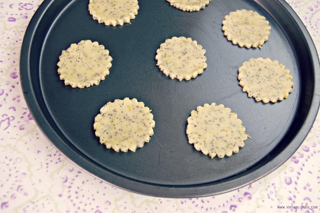 Lemon, Poppyseed, Cookies, Biscuits, Recipe