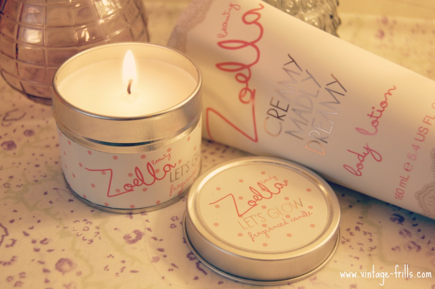 Zoella, Zoella Beauty, Zoella Candle, Let's Glow