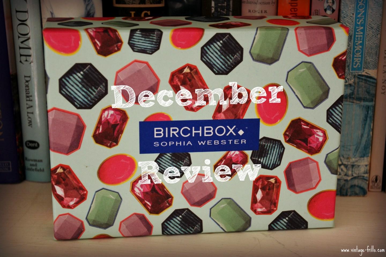 December Birchbox 1