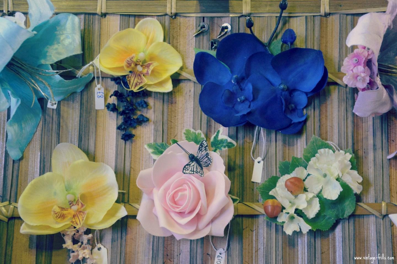 Rosie Alia Hair Flowers Mid Century Market
