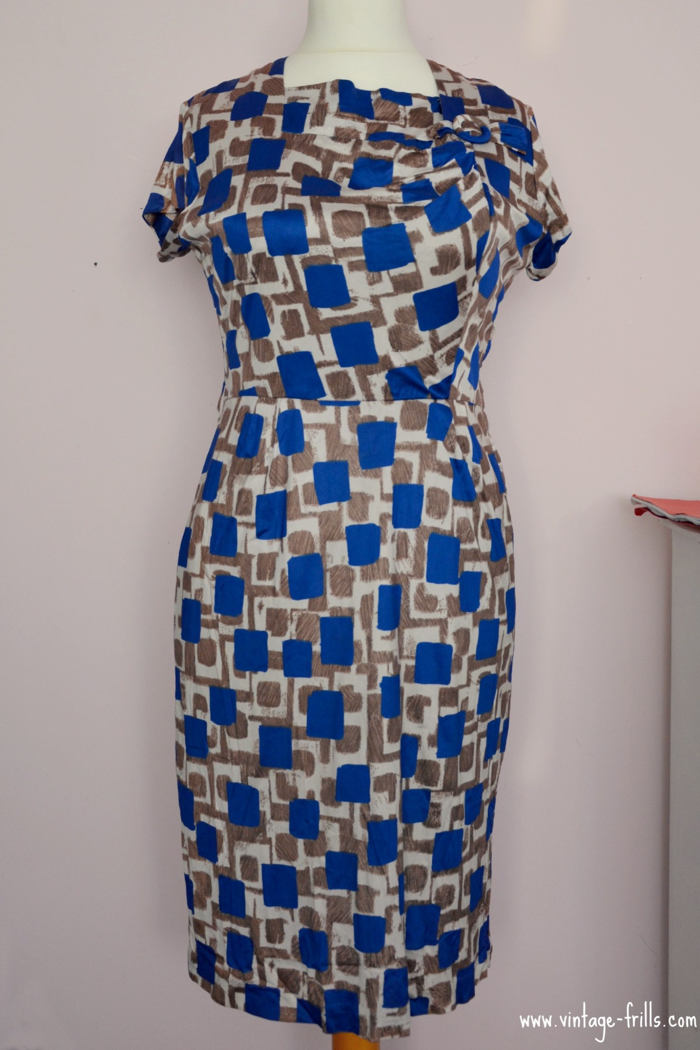 Vintage Early 1960s Dress
