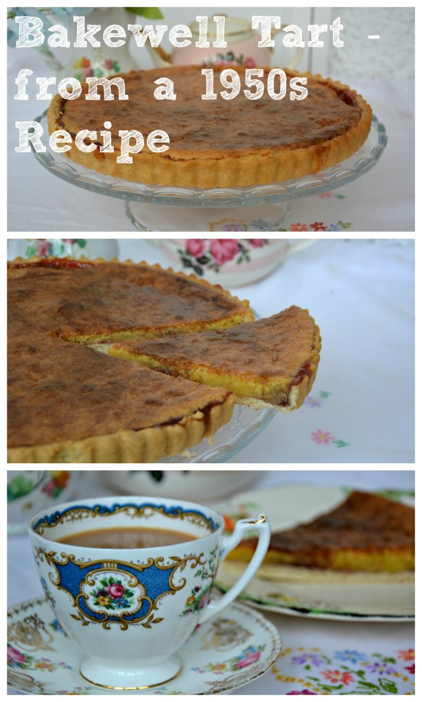 Traditional Vintage Bakewell Tart Recipe