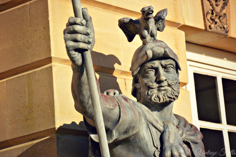 Hampton Court Statue 2