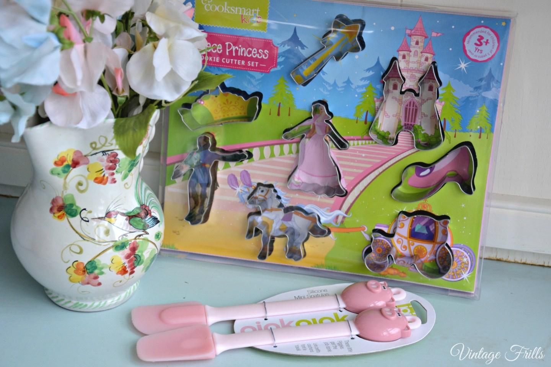TK Maxx Cooksmart Kids Princess Cookie Cutters